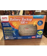 Battery Back Up 500 Va Power Outlets Telephone Protection Local Pickup Only - $43.97