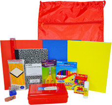 Elementary Kit (1st-5th) w/Drawstring Backpack - $251.88