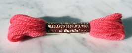 Vintage Bucilla Persian Wool Needlepoint Crewel 3 Ply Yarn-1 Skein Pink #90 - $2.38