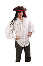 Men's Costume: Pants Pirate - Fancy White - $29.99