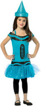 Girl's Costume: Crayola Steel Blue | Medium - $44.99