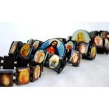 Rosary Saint Religious Bracelets Wood - $118.80