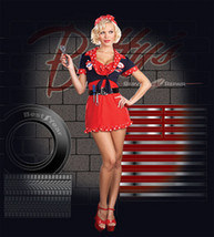 Women's Costume: Betty's Full Service | Large - $43.99