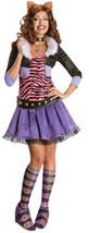 Women's Costume: Monster High Clawdeen Wolf | Medium - $63.99