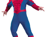 Men's Costume: Spiderman Classic Muscle Chest