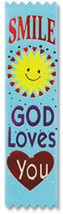 Smile, God Loves You Value Pack Ribbons - $20.97