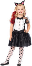 Girl's Costume: Tuxedo Kitty 3 piece | Medium - $25.99
