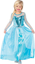 Girl's Costume: Fantasy Snow Queen | Small - $25.99
