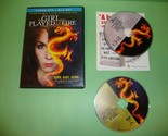 The Girl Who Played With Fire (Blu-ray/DVD, 2010)