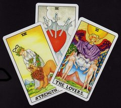 Three Card Tarot Reading for Meditation and Focus - $15.00