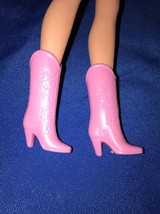 Vintage Superstar BARBIE COWBOY BOOTS Light Pin... - $6.92