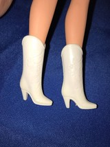 Vintage Superstar BARBIE COWBOY BOOTS White - F... - $6.92
