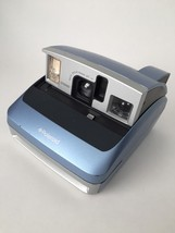 Polaroid Instant Camera One600 One 600 Blue Untested No Film Lcd Display - $11.71
