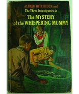 Three Investigators Mystery of the Whispering Mummy 1st Print hc Robert ... - $40.00