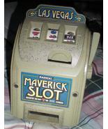 Maverick Slot Bank, Casino Savings Bank By Trademark Poker - $20.00