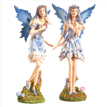 Poppy and Meadow the Windforrest Fairies Statue Collection Set of Two - €46,00 EUR