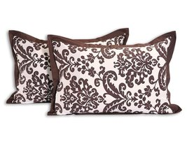 """Luxurious Cotton Patterned Pillowcases - Set of 2 Pillow Cases - 20"""" x 3... - $20.26"""