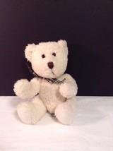 """Russ Berries Murphy White Bear Irish Bear Plush Stuffed 5.75"""" sitting - $8.56"""
