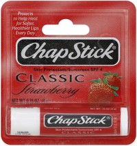 Chapstk Strawberry Size .15z Chapstick Strawberry .15oz - $2.49