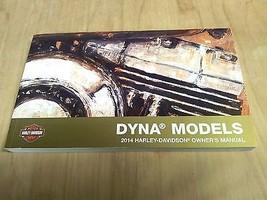 2014 Harley Davidson Dyna Models Owner's Manual 99467-14 - $22.52