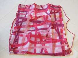 Avon Womens Ladies Breast Cancer Ribbons Backpack pinks light F3619881 NEW;; image 1