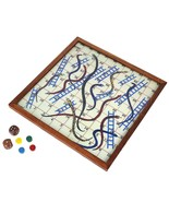 Snakes and Ladders Board Games with Magnetic Board and Pieces - $25.93
