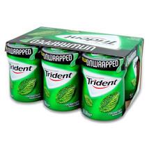 Trident Gum Spearmint - Bottle 50 Pcs Each ( 6 In A Pack ) - $30.44
