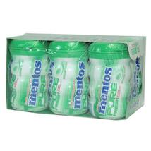 Mentos Gum Pure Fresh Spearmint - Big Bottle 4.5 Oz Each ( 6 In A Pack ) - $29.22
