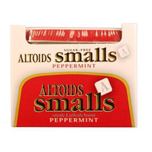 Altoids Smalls Mint Sugar Free Peppermint Tin 0.37 Oz Each ( 9 In A Pack ) - $17.50