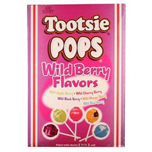Tootsie Pops Wild Berry 1 Ct Each ( 100 In A Pack ) - $23.44