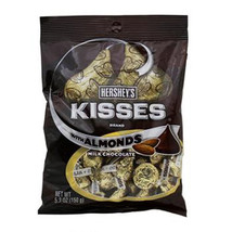 Kisses Peg Almonds 5.3Oz ( 12 In A Box ) - $35.78