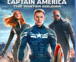 Captain America: The Winter Soldier (Blu-ray Disc, 2014) New Super Hero Movie