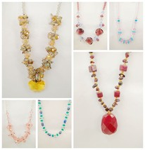 Lovely Mix Style Lots Of 6 Pieces Gemstone Bead... - $32.59