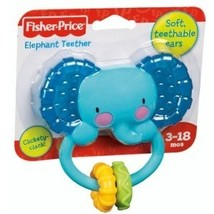Fisher-Price Elephant Teether Rattle - $6.00