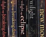 DVD- The Twilight Saga (Twilight / New Moon / Eclipse / Breaking Dawn,Part 1&2