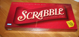 NIP - 2001 Scrabble Crossword Game - Parker Brothers , Hasbro - Ages 8 t... - $10.99
