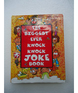 The Biggest Ever Knock Knock Joke Book Author: Anam 2000 Hard Cover D.Pa... - $13.99