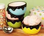 We All Scream For Ice Cream 4 Bowl Set - 24 Sets