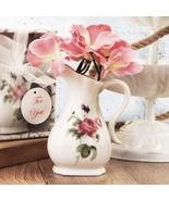 Rose Design Fine Porcelain Vase - Set of 24 - $86.99