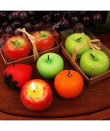 Two Fruit Shaped Candles Set - Assorted - 72 Sets - $161.99