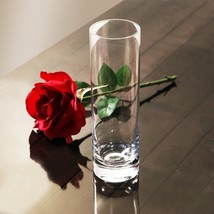 Weighted Glass Bud Vase - 8 Inches Tall - Set of 96 - $232.99