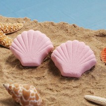 Pink Seashell  Bath Fizzer - Set of 12 - $19.95