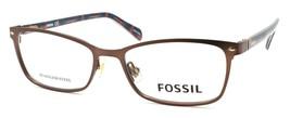 Fossil FOS 7038 4IN Women's Eyeglasses Frames 50-16-140 Matte Brown + CASE - $79.00