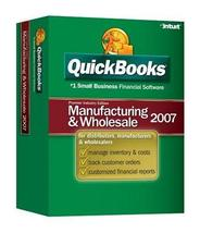 QuickBooks Premier Manufacturing and Wholesale Edition 2007 [OLDER VERSION] - $340.00
