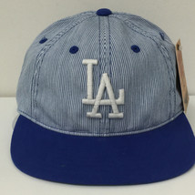 American Needle MLB Los Angeles Dodgers Upper Deck Adjustable Cap Hat 12945 - $28.04