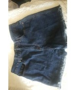 BDG Women's Urban Outfitters  High Rise Cheeky Blue Shorts 29 Bin30#1 - $13.10