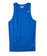 Royal Blue Small N9138 New Balance Men Tempo Running Singlet Tank Top NB... - $12.00