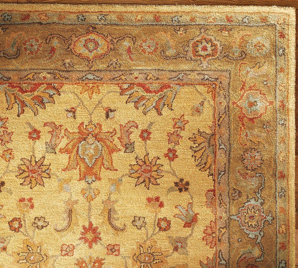 Area Rug Persian 9x12 Oriental Carpet Ivory Wool: Sale Brand New Pottery Barn HANAN Persian Style Woolen