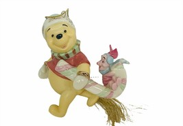 Winnie The Pooh Christmas Ornament Lenox Disney porcelain Piglet figurin... - $39.55