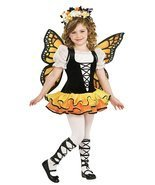 Monarch Butterfly Kids Costume Md 8-10 Kids Girls Costume - $36.08 CAD